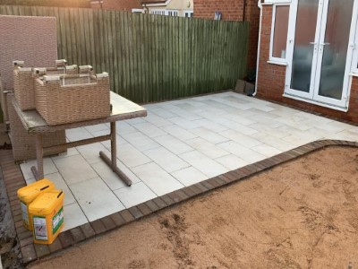 Riven Concrete Slabs